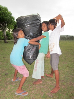 Waste awareness and garbage hunt